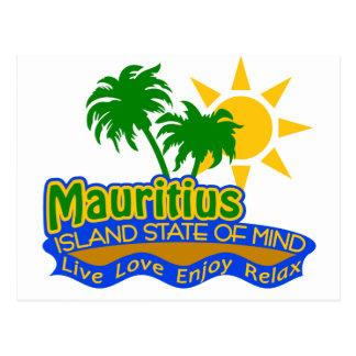Mauritius State of Mind postcard