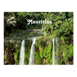Mauritius Waterfalls Postcard
