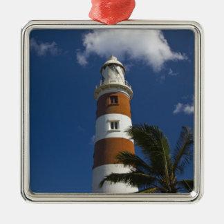 Mauritius, Western Mauritius, Belle Vue, Albion Silver-Colored Square Decoration