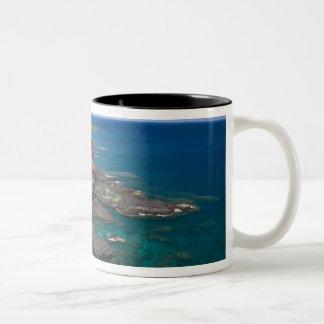 Mauritius, Western Mauritius, Belle Vue, Ocean Two-Tone Coffee Mug