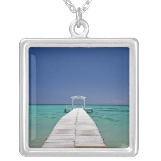 Mauritius, Western Mauritius, Le Morne 2 Silver Plated Necklace