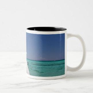 Mauritius, Western Mauritius, Le Morne 2 Two-Tone Coffee Mug