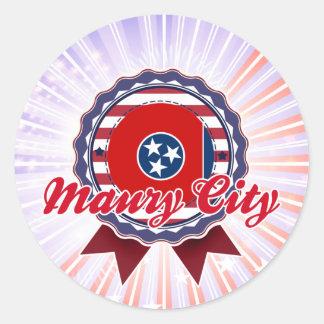 Maury City, TN Sticker