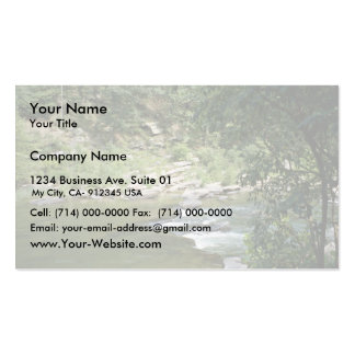 Maury River at Goshen Pass, Va. Double-Sided Standard Business Cards (Pack Of 100)