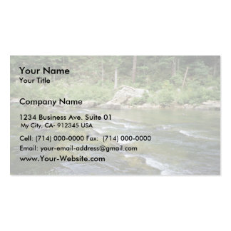 Maury River at Goshen Pass, Virginia Double-Sided Standard Business Cards (Pack Of 100)