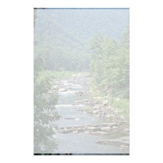 Maury River at Goshen Pass Virginia Stationery Design