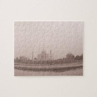 'Mausoleum at the riverside, Taj Mahal, Agra, Jigsaw Puzzle