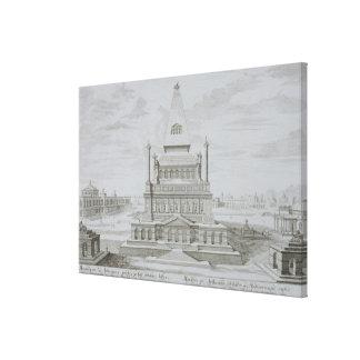 Mausoleum of Halicarnassus, Bodrum, Turkey, from ' Canvas Print