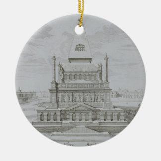 Mausoleum of Halicarnassus, Bodrum, Turkey, from ' Christmas Ornament