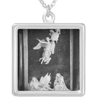 Mausoleum of Nicolas Bautru  Marquis de Vaubrun Silver Plated Necklace
