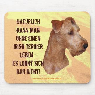 Mauspad Irish Terrier