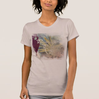 Mauve all Pottery themed Shirt
