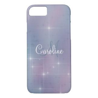 Mauve Lavender Teal Sparkle iPhone 8/7 Case