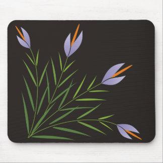 Mauve lily Mousepad