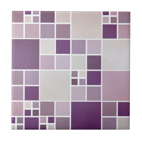 Mauve Mosaic Pattern Kitchen Bathroom Tile