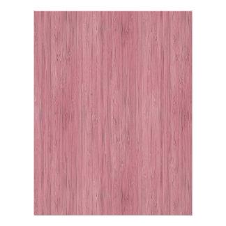 Mauve Purple Bamboo Wood Grain Look 21.5 Cm X 28 Cm Flyer