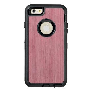 Mauve Purple Bamboo Wood Grain Look OtterBox iPhone 6/6s Plus Case