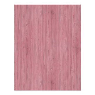 Mauve Purple Bamboo Wood Look Flyer