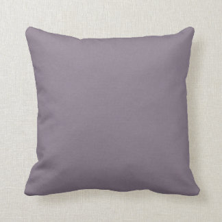 Mauve Purple Solid Accent Throw Pillow
