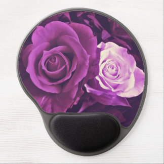 Mauve Roses in Bloom Gel Mousepad Gel Mouse Mat