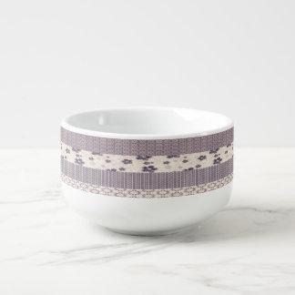 Mauve Soup Mug
