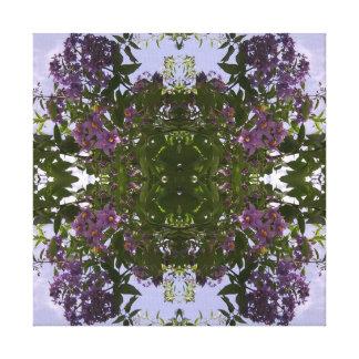 Mauve Tree Flower Fractal Summer 2016 Canvas Small