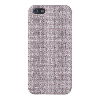 Mauve Tweed iPhone Case iPhone 5 Cover
