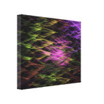 MAVERICK Abstract Art Wrapped Canvas Print