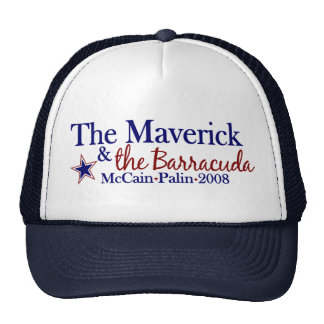 Maverick and Barracuda (McCain Palin 2008) Cap