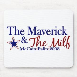 Maverick and Milf McCain Palin 2008 Mouse Pads
