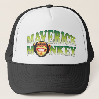 Maverick Monkey Trucker Hat