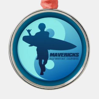 Mavericks -Half Moon Bay (Blue) Christmas Ornament
