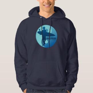 Mavericks -Half Moon Bay (Blue) Hooded Sweatshirts