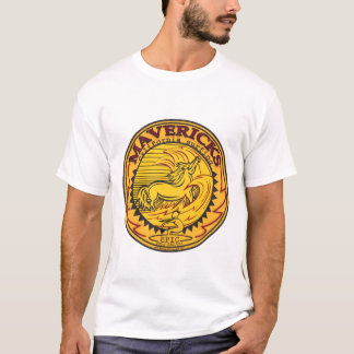 MAVERICKS HALF MOON BAY CALIFORNIA SURFING T-Shirt