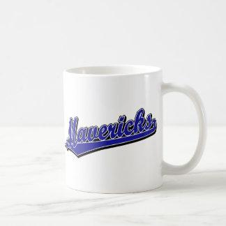Mavericks in Blue Coffee Mugs