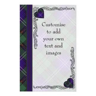Mavor clan Plaid Scottish kilt tartan 14 Cm X 21.5 Cm Flyer