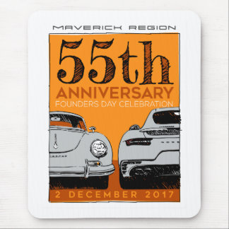 Mavs 55th Anniversary mouse pad