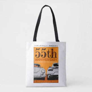 Mavs 55th Anniversary tote bag