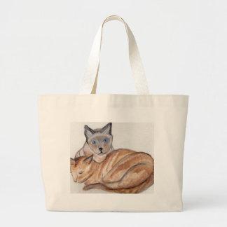 Max and Boris Jumbo Tote Bag