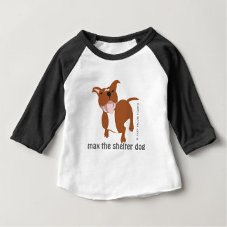 Max | Baby American Apparel 3/4 Sleeve Raglan Tee
