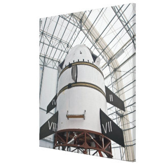Max Launch Abort System vehicle Gallery Wrap Canvas