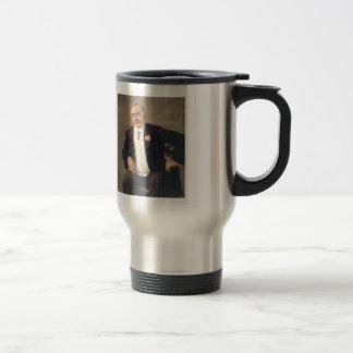 Max Liebermann- Carl Duisberg 15 Oz Stainless Steel Travel Mug