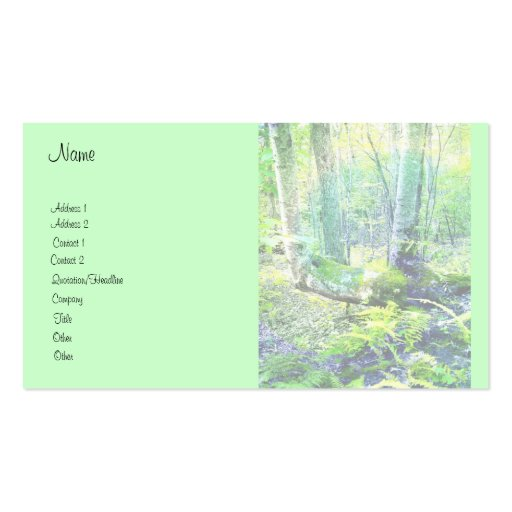 Max Patch Tree Tree Business Card