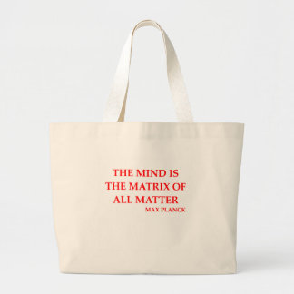 max planck quote bags