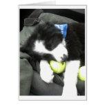 Max pup greeting card