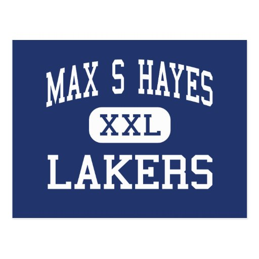 Max S Hayes - Lakers - Vocational - Cleveland Ohio Post Card