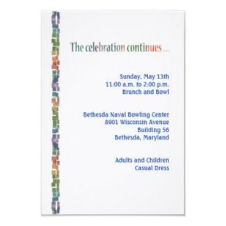 Max Torah Reception3 9 Cm X 13 Cm Invitation Card
