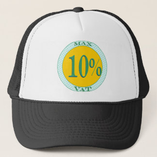 Max VAT ten per cent Trucker Hat