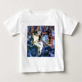 Maxfield Parrish's Fair Princess and the Gnomes Baby T-Shirt