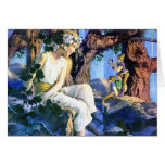 Maxfield Parrish's Fair Princess and the Gnomes Cards